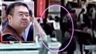 Mr Kim was attacked at Kuala Lumpur airport.
