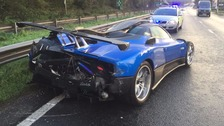 'One of a kind' £1.5 million supercar in crash