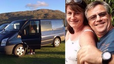 Couple's campervan stolen after two minutes