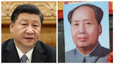 Xi Jinping and Mao Zedong