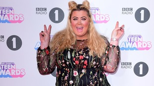 Gemma Collins threatens legal action after falling down hole at Radio 1 Teen Awards