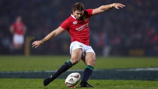 British and Irish Lions' Leigh Halfpenny