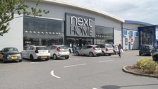 The Next Home store in Marsh Mills Retail Park, Plymouth.