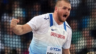 Nick Miller at the 2017 IAAF World Championships