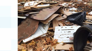Household waste is a common problem.