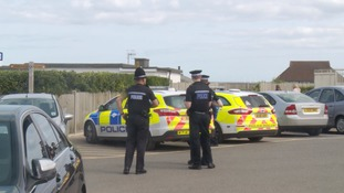 Police in Cromer in August