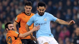 Wolves out of Carabao Cup after defeat to Manchester City on penalties