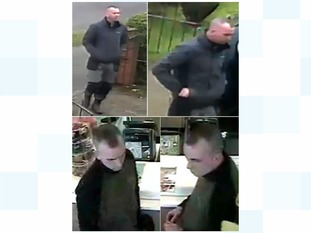 Police have released this image of two men they'd like to trace to help investigate a bogus caller incident in South Shields