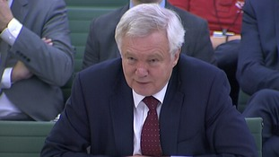 David Davis hopes to agree a transitional deal by December.
