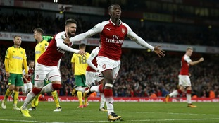 18-year-old Edward Nketiah was Arsenal's match-winner.