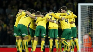 Norwich were just minutes away from causing an upset.