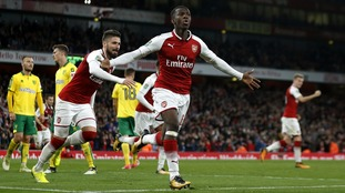 Nketiah is hoping to achieve many more of his footballing dreams after perfect home debut