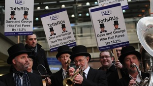 Fury over rail fare rises and delays
