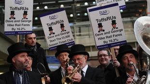 Fury over rail fare rises and delays