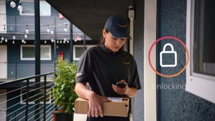 Amazon launches service allowing couriers to unlock doors and drop off packages inside