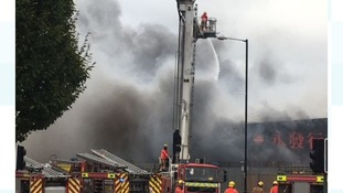 Update meeting for those unable to return home following Chinese supermarket blaze