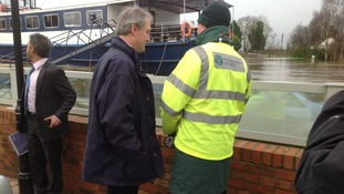 Owen Paterson in Upton upon Severn