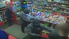 CCTV released following Stalybridge armed robbery