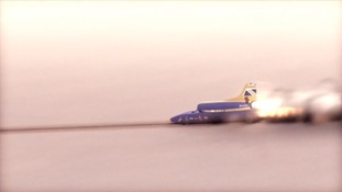The Bloodhound supersonic car is set to reach a record 1000mph on land.