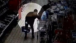 Supermarket pickpockets caught on CCTV targeting 87-year-old woman