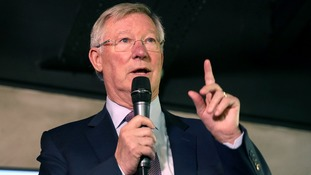 Sir Alex Ferguson, at The Peninsula Stadium earlier this month