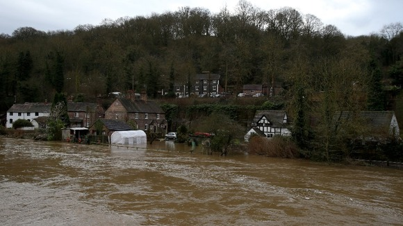 Flooding in Ironbridge