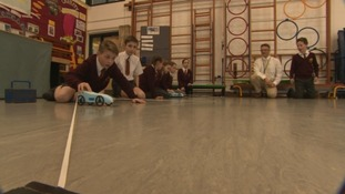 Children across West Country building their own Bloodhound-inspired vehicles