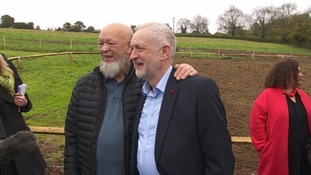 Michael Eavis and Jeremy Corbyn celebrate final stage of Somerset social housing project