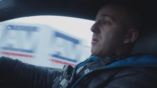 policeman driving