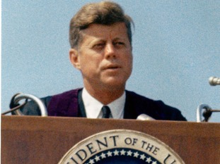 He was the 35th President of the United States.