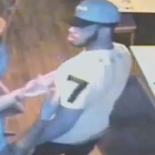 Police believe this man was the victim of the car attack