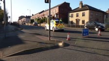 An 82-year-old man is seriously ill after a 'hit-and-run' on Blackburn Road