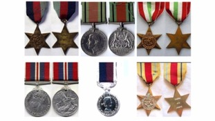 Second World War medals stolen from Teignmouth home