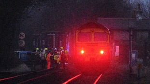 Yarnton train crash latest