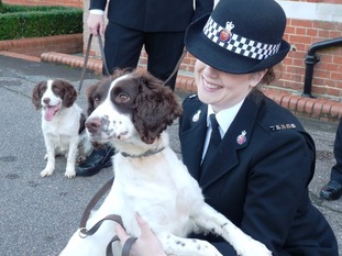 Pc Hayley Peek and Holly