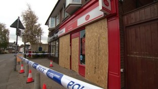 Thieves have attacked a Post Office ATM in George Street in Lutterworth.