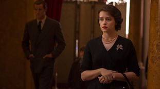 Claire Foy in the first series of The Crown.