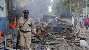 At least 23 dead after explosions near presidential palace Somalia capital Mogadishu