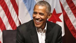 Barack Obama will serve in November.