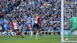 Brighton earn a point against Southampton thanks to Glenn Murray goal