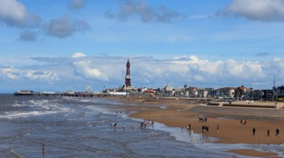 Blackpool seafront protected by £27m flood defence system