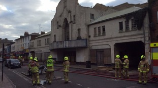 'Deliberate' fire damages old cinema in Colchester