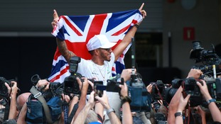 Lewis Hamilton: Record-breaking fourth world championship a 'dream come true'