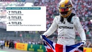 Lewis Hamilton has now moved up to joint-third in the all-time standings.