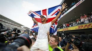 Lewis Hamilton: Neymar and Usain Bolt among sporting stars to congratulate champion