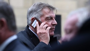 Former England boss Sam Allardyce would consider becoming Everton manager if approached