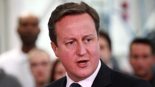 David Cameron's visiting the region to encourage more young people to turn business ideas into reality