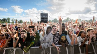 Crowds enjoy last summer's festival in Chelmsford.