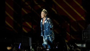 P!nk headlined this year's festival.