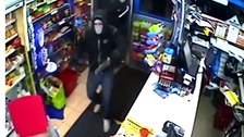 The men broke into the shop last Thursday.